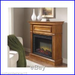 ELECTRIC FIREPLACE Heater TV STAND Stove Ventless Modern FREE STANDING Mantel