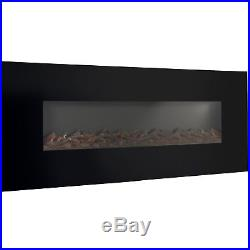 Electric Fire Place Insert Fake Screen TV Mount Decoration Best Flat Panel