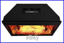 Electric Firebox Fireplace Insert Room Heater Patented New 28