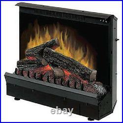 Electric Fireplace Insert, 23-In. Firebox, 1375-Watts, 4695-BTU