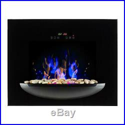 Electric Fireplace Insert Burning Flame Effect Stove Suite Fire Indoor Digital