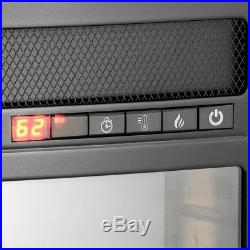 Electric Fireplace Insert Heater 28 in. Freestanding Black Remote Control AKDY
