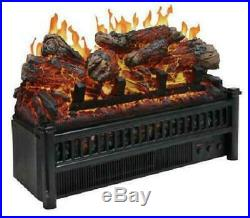 Electric Fireplace Insert Log Set Heater Remote Control Living Room Decor NEW