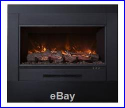 Electric Fireplace Insert with 38 x 24 Trim