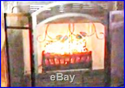 Electric Fireplace Logs Heater Realistic Flame Hearth Crackling Fire Insert Wood