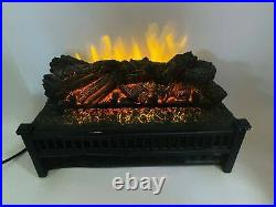 Electric Remote Insert Log Fireplace Space Heater 3D Flame Stove LH-24