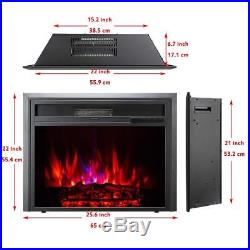 Embedded Electric Fireplace Insert Recessed 23 26 30 Stove Heater