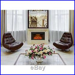 Embedded Fireplace Electric Insert Heater 36 750With1500W with Fire Crackler Sound