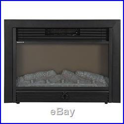 Fake Fireplace Heater Electric Wood Log Decoration RV Large Insert BestValue New