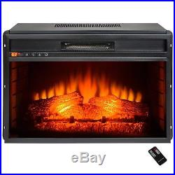 Fire Box Fake Fireplace Insert Small Artificial Modern Realistic Hot Electric