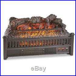 Fireplace Insert With Heater Remote Control Fan Realistic Flames Logs Electric