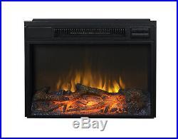 Flamelux 24 Wide Firebox Insert, Black