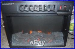 Flamelux 24 Wide Firebox Insert (Black)