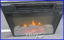 Flamelux Electric Firebox Insert Metal 24 Black