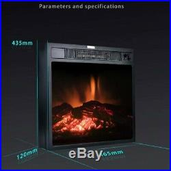 Free shipping hot selling 18 inch insert electric fireplace