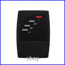 Freestanding Electric Fireplace Heater Wall Insert Adjustable +Remote 1500 W 23