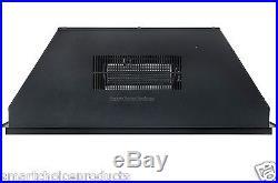GTC 28 Black Electric Firebox Fireplace Insert Room Heater New
