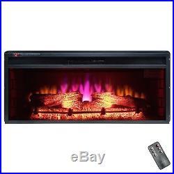 Golden Vantage FP0062 36 Insert Freestanding Electric Fireplace 3D Flames