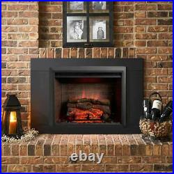 GreatCo Gallery Zero-Clearance Series Insert Electric Fireplace, 36 Surround with