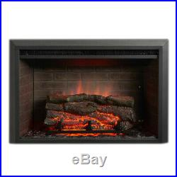 GreatCo Gallery Zero-Clearance Series Insert Electric Fireplace, 42 Surround
