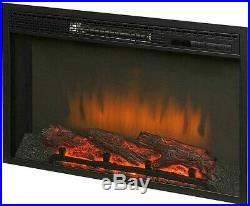 Home Decorators 26in Freestanding Infrared Electric LED Fireplace Firebox Insert