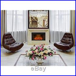 Houselux 36 750With1500W, Embedded Fireplace Electric Insert Heater, Crackler