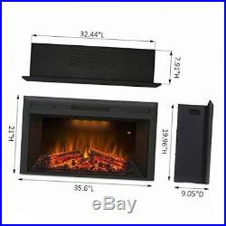 Houselux 36 750with1500w, embedded fireplace electric insert heater, fire