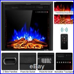 Insert Electric Fireplace Wall Mounted 26 Remote Control Faux Fireplace Fake