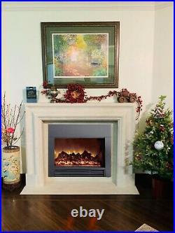 Laraine 38'' W electric fireplace heater Electric fireplace wall mounted insert