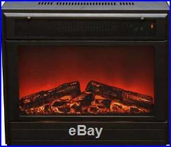McLeland Electric Fireplace Heater Insert Black