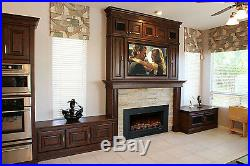 Modern Flames ZCR Series Electric Fireplace Insert 38x24 Trim New FREE SHIPPING