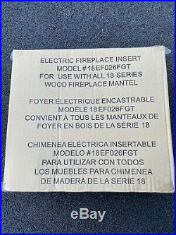 NEW 18 Electric Fireplace Insert Model#18EF026FGT For Use with All 18 Series FP