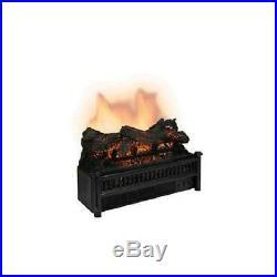 NEW World Marketing ELCG240 Electric Insert Fireplace CG Log Set w Heater