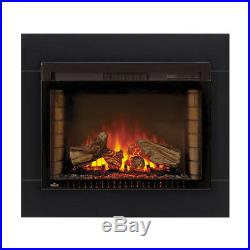 Napoleon 29 Cinema Series Electric Fireplace Insert With Trim Kit #NEFB29H