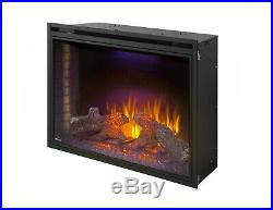 Napoleon Ascent 40 Built-in Wall Electric Fireplace Insert Heater