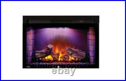 Napoleon Cinema 29-inch Built-In Electric Fireplace Insert with Logs