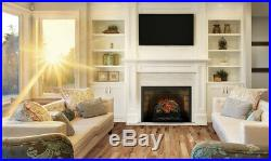 Napoleon Woodland 18 Built-in Wall Electric Log Fireplace Insert Heater