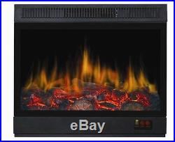 New Insert Style Electric Fireplace Space Heater 1500 Watts withRemote 1500With750W