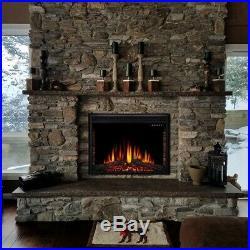 New Sunlei 28 Recessed Mounted Electric Fireplace Insert Model RFI-2801LA