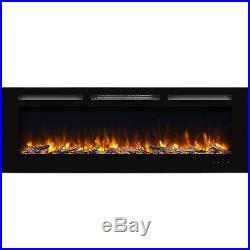 Orren Ellis Iserman Wall Mounted Electric Fireplace Insert