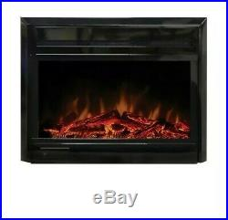 Paramount 28-inch x 18-inch Electric Fireplace Insert with Gentle-Touch Controls