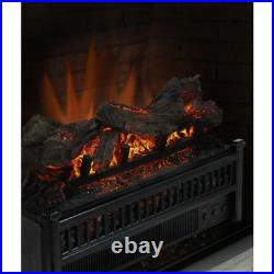 Pleasant Hearth Electric Log Set Heater Insert Fireplace Accessory Decor 23 Inch