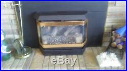 Propane fireplace insert. 21 5/8. X 27 3/4 opening