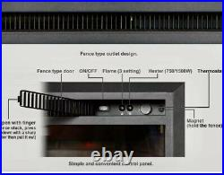 PuraFlame 26 Inch Western Electric Fireplace Insert- GREAT CONDITION -750/1500W