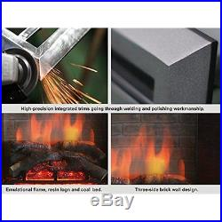 PuraFlame 26 Smokeless Fireplaces Western Electric Fireplace Insert with Remote