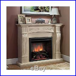 PuraFlame 26 Western Electric Fireplace Insert with Remote Control 750/1500W