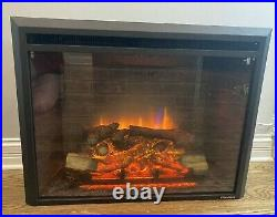 PuraFlame 30-inch Western Electric Fireplace Insert