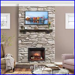 PuraFlame 33-inch Western Electric Fireplace Insert with Remote Control