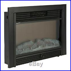 RV Fireplace Elec Insert Low Electric Fireplaces Heated Log Flame Best Rated New
