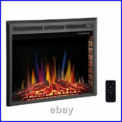 RW Flame Electric Fireplace Insert Recessed Electric Stove Heater A 36 In. 1500W
